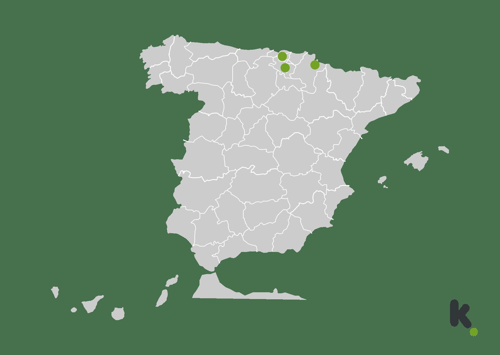Mapa 5G de Guuk