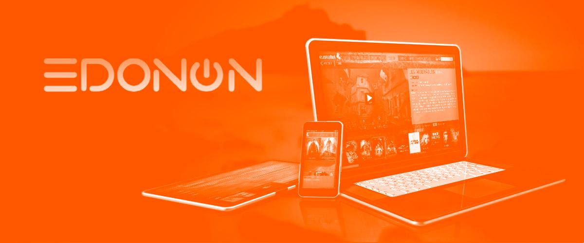 Disfruta de Edonon cuándo, dónde y cómo quieras
