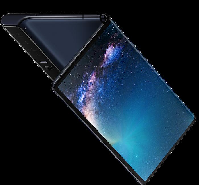 Curva interior del Huawei Mate X