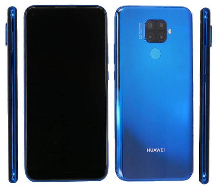 Todos los ángulos del Huawei Nova i5 Pro