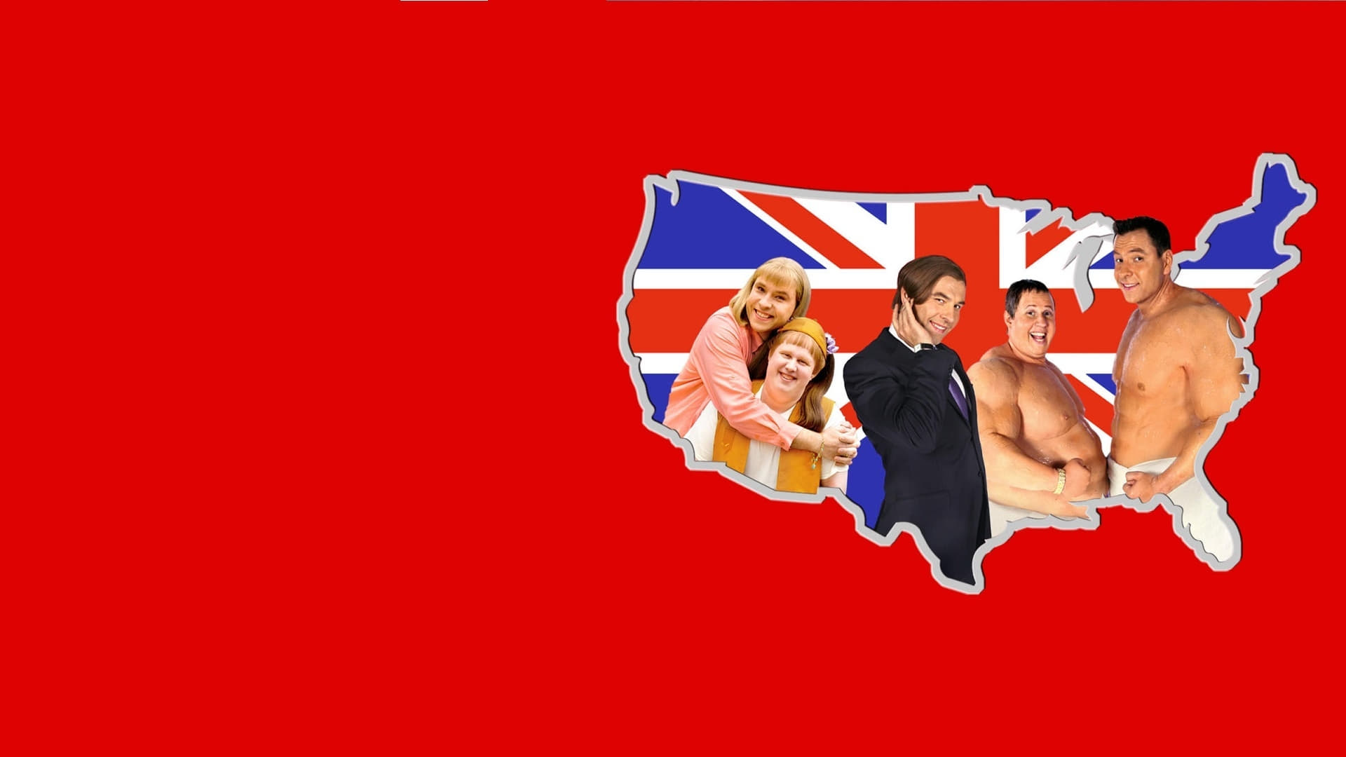 Dónde ver Little Britain USA completo