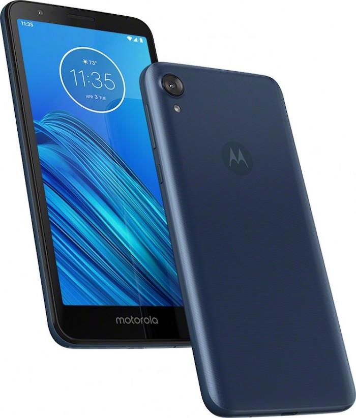 Motorola Moto E6 frontal y trasera