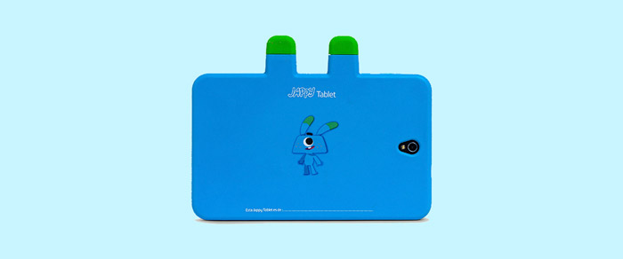 Trasera de la Jappy Tablet de Movistar