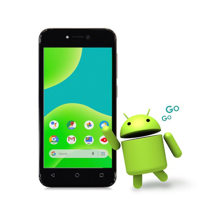 Wiko y50 con Android
