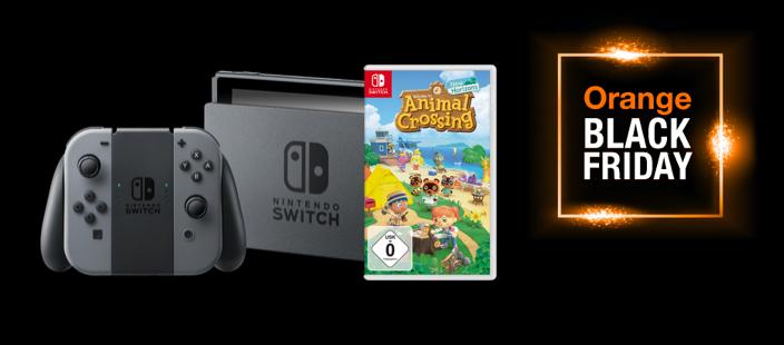 Nintendo Switch en Orange