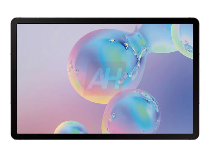 Samsung Galaxy Tab S6 deplegada