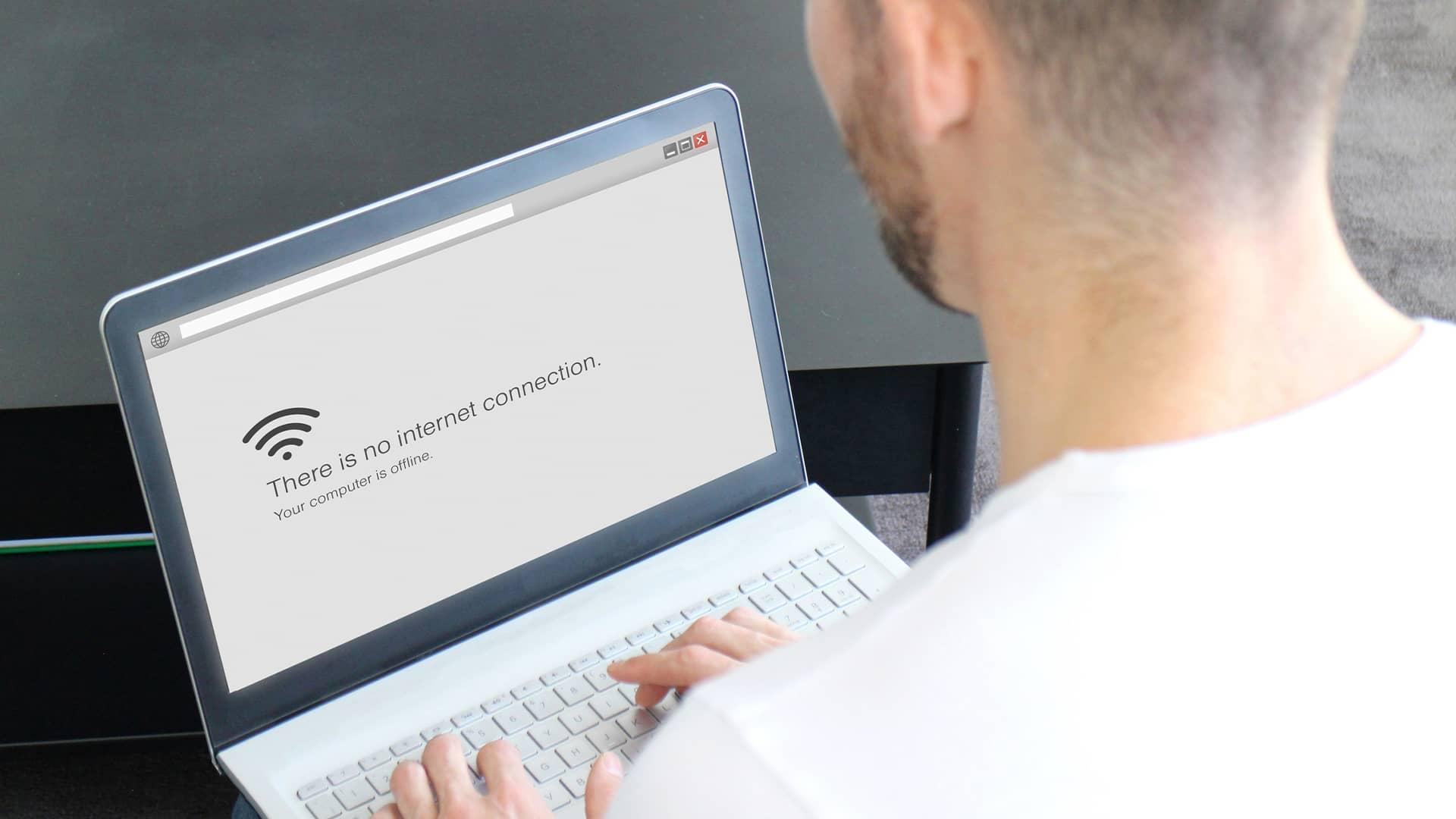 ¿Qué hacer cuando no funciona internet? Pasos a seguir