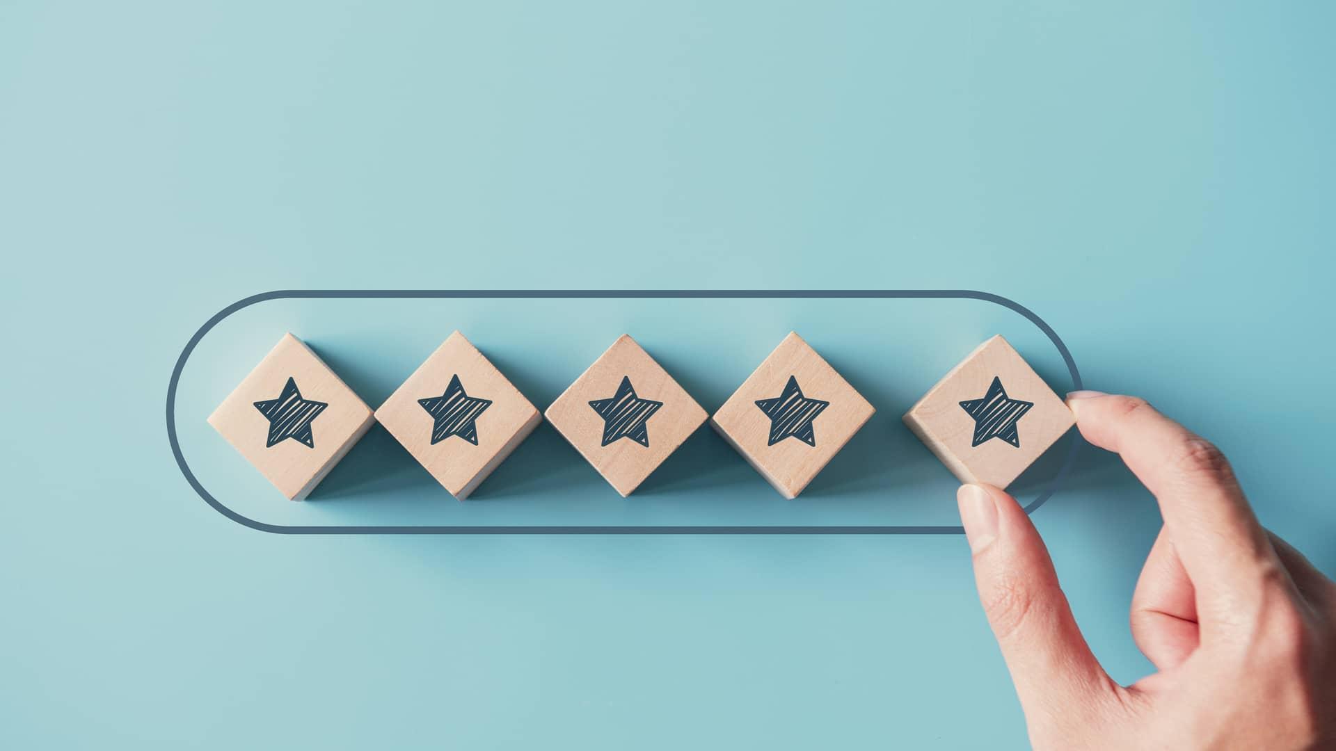 5 estrellas simboliza la opinión sobre euskaltel