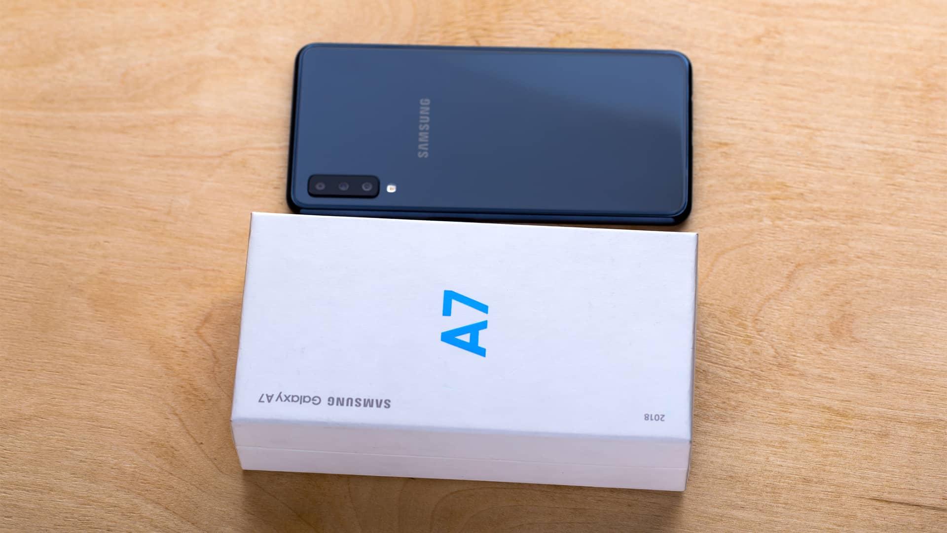 Samsung Galaxy A7 en Movistar: ¿quieres comprarlo?