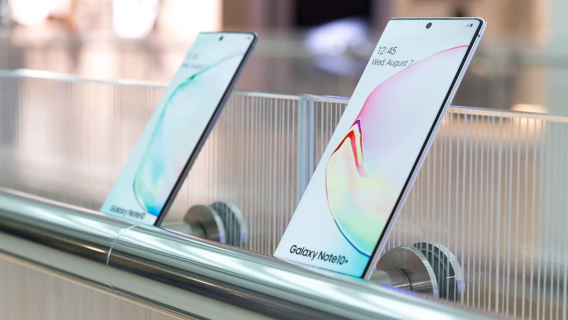 Samsung Galaxy Note 10+ con Orange: ¿puedo comprarlo?