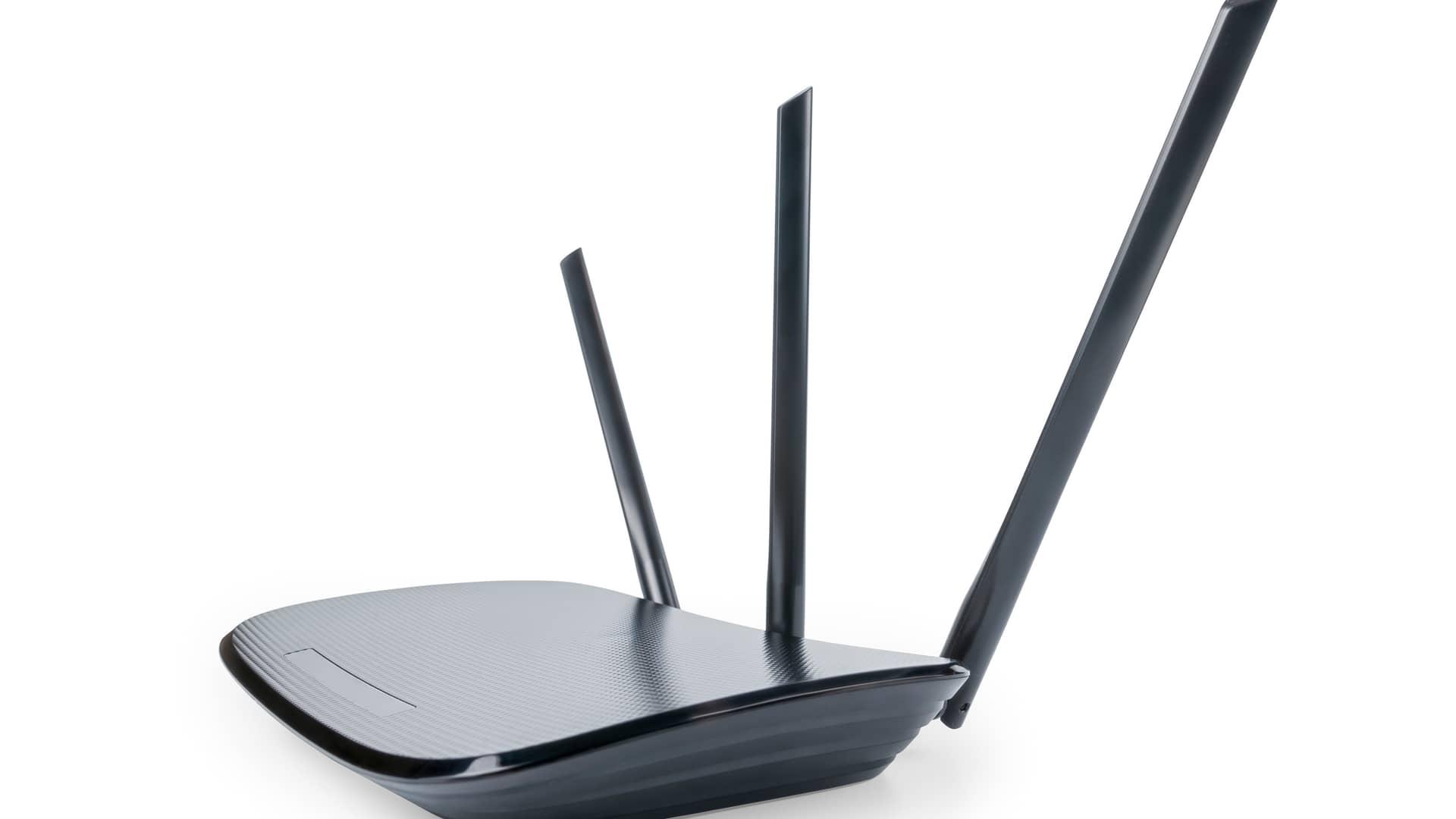 Router simboliza cobertura adsl de pepephone