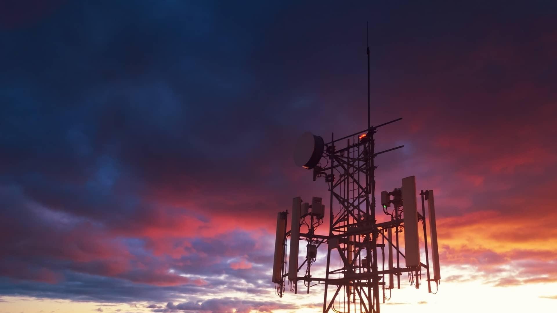 Antena cobertura vodafone
