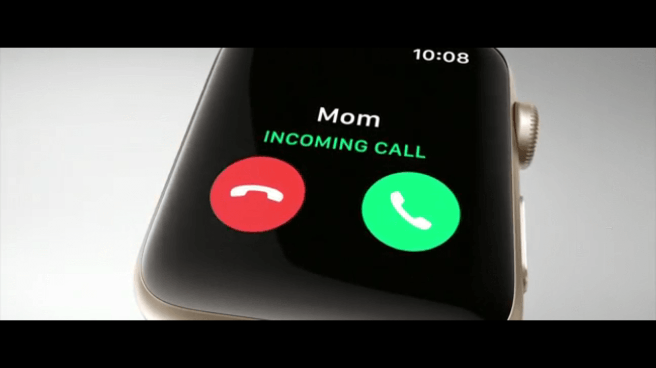 Llamadas entrante en el Apple Watch