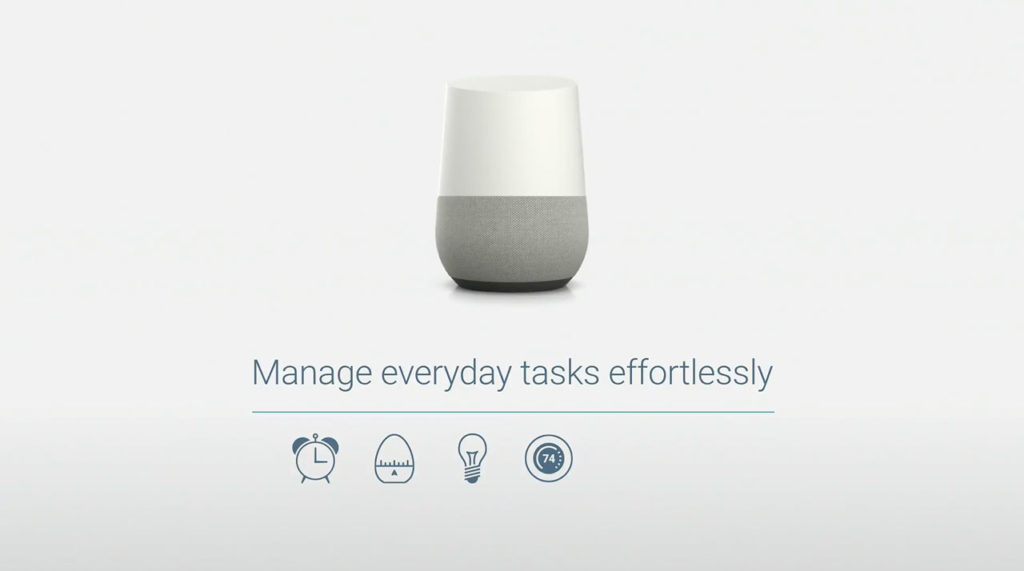 asistente personal Google Home