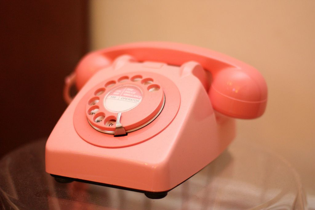 teléfono fijo con OMV