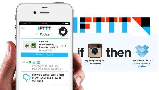 Iftttt es una de las mejores aplicaciones para iphone y ipad de 2017