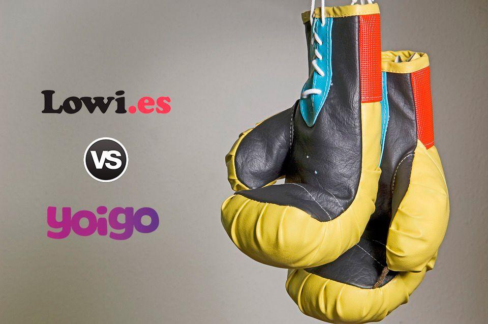 Boxeo entre Sinfín de Yoigo y Lowi
