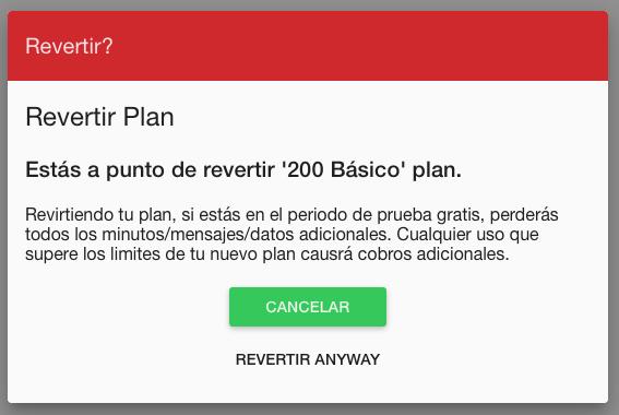 revertir plan freedom pop