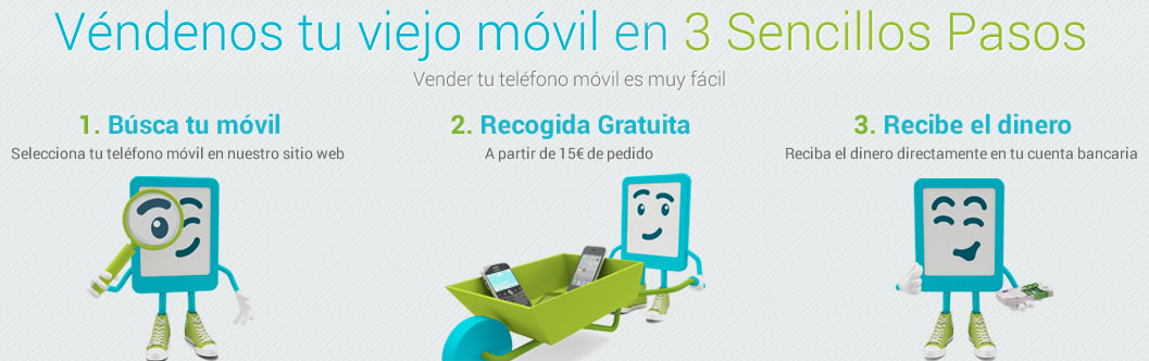 "Vender tu viejo móvil en ""dinero&móviles"""