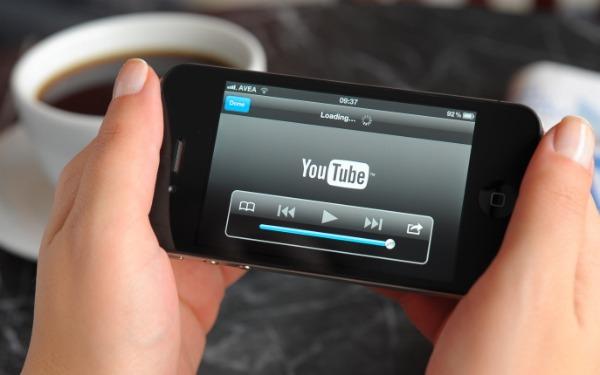 Youtube en el móvil consumo de datos
