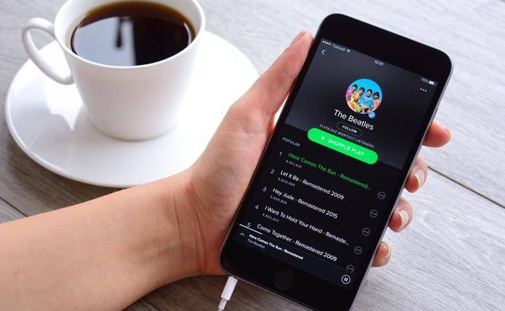 cuantos megas consume spotify