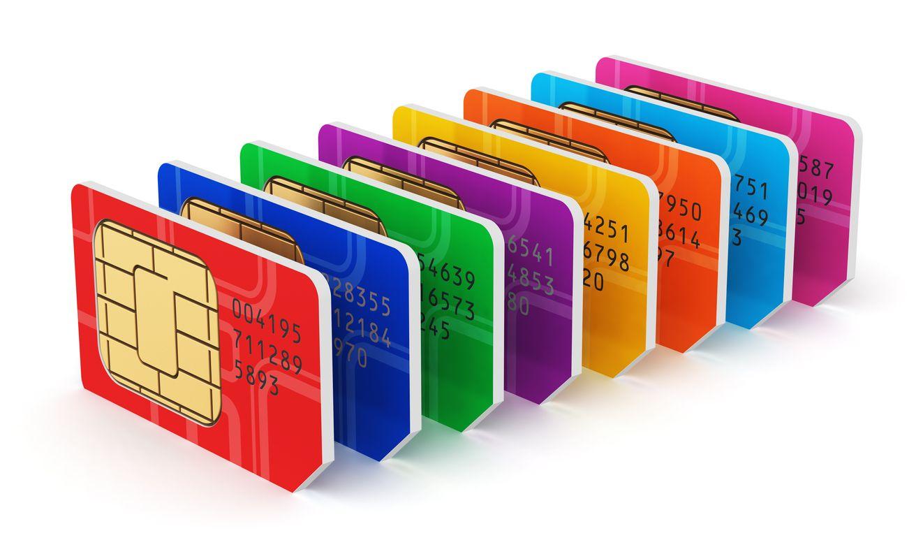 número icc de las tarjetas sim