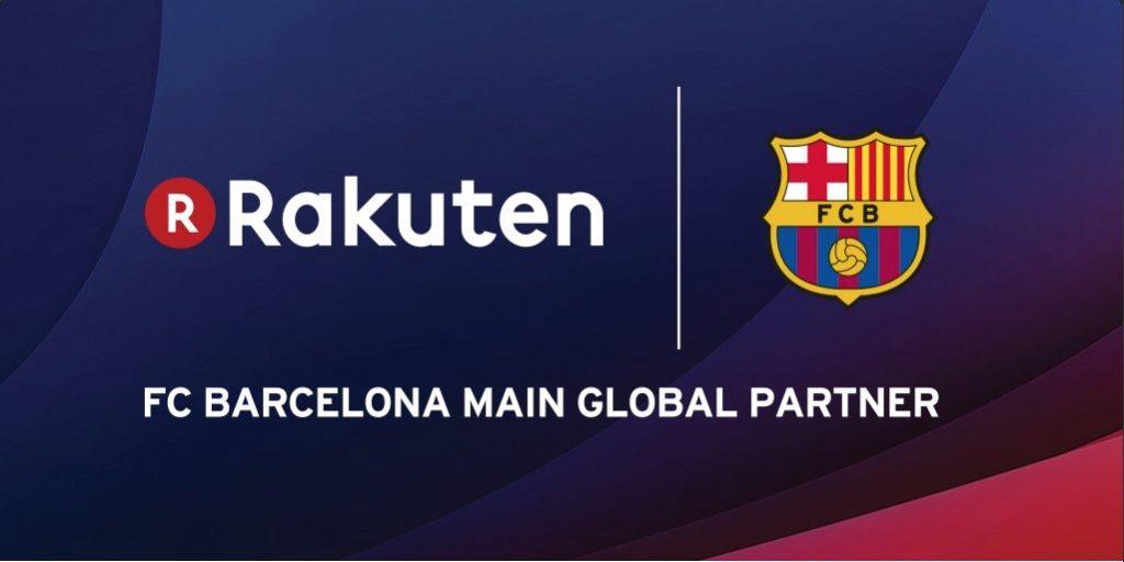 Rakuten Tv es el nuevo patrocinador del FC Barcelona