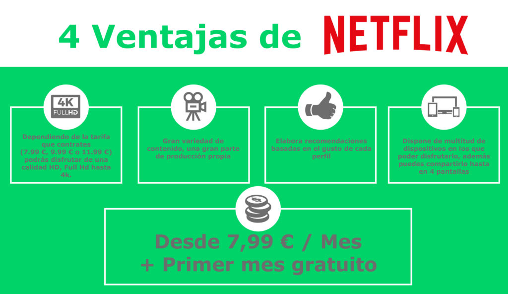 Ventajas Netflix