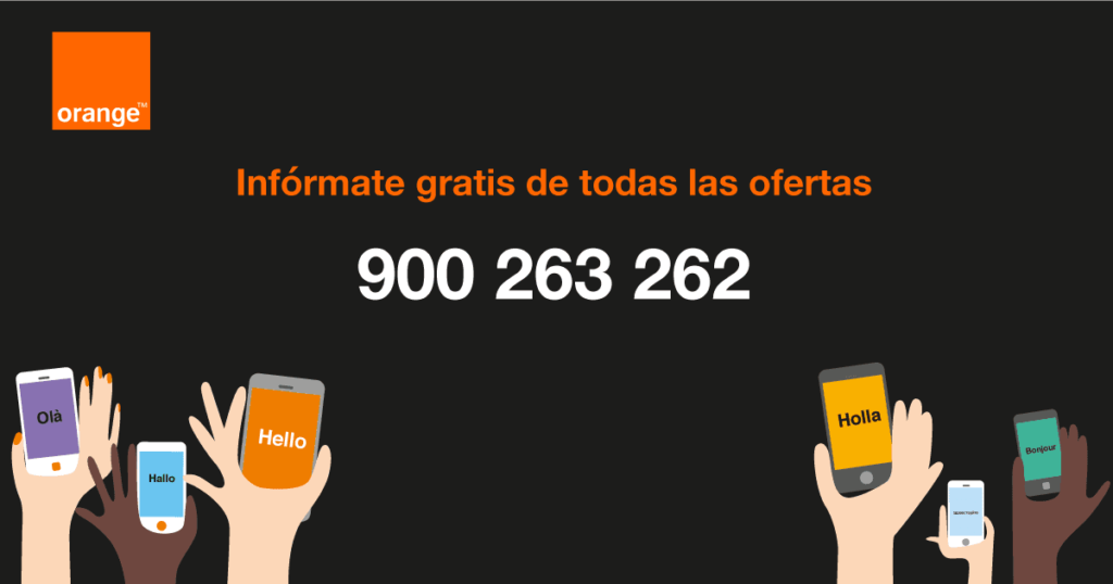 Infórmate gratis Orange