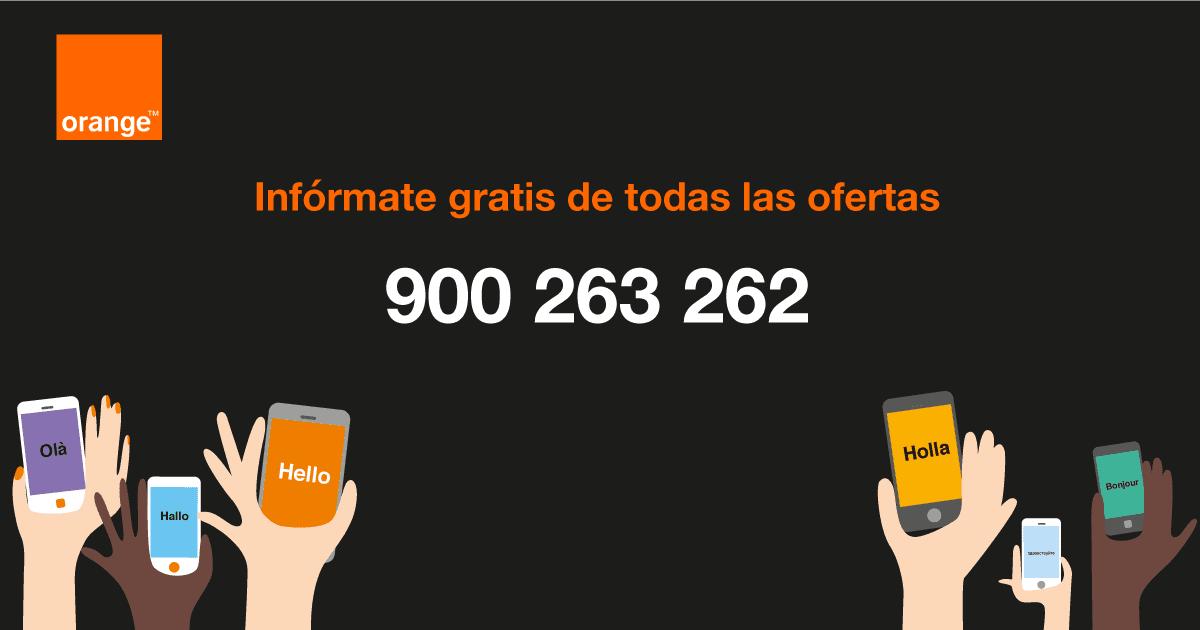 informate gratis Orange