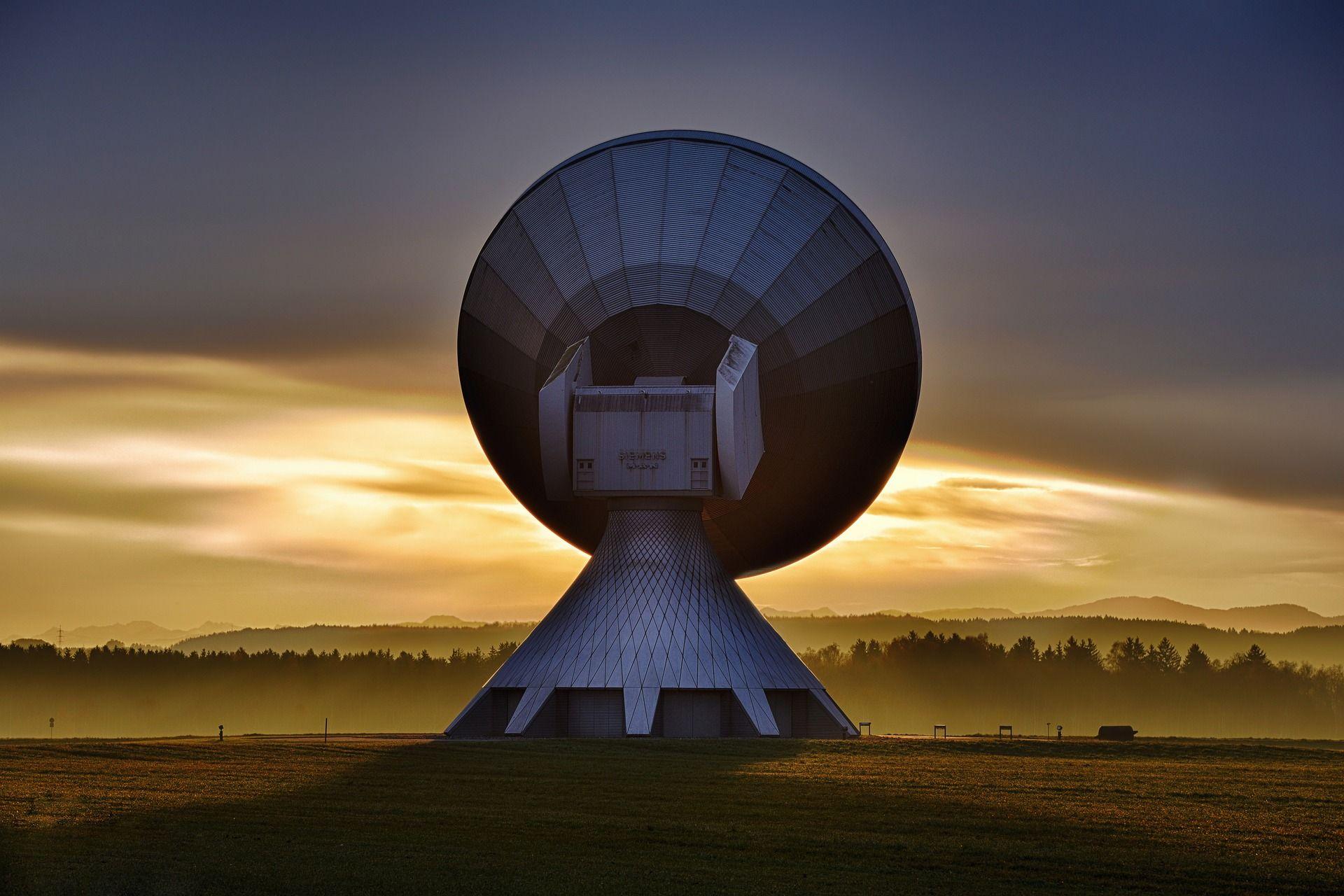 Antena de internet por satélite