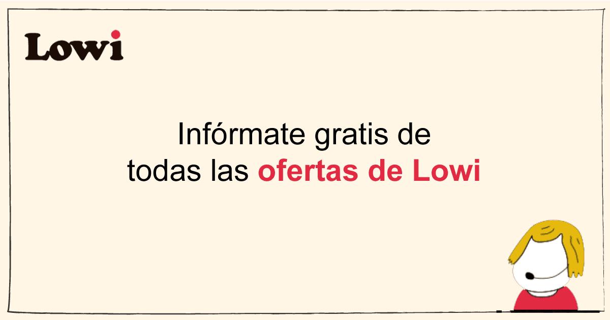 ofertas de lowi