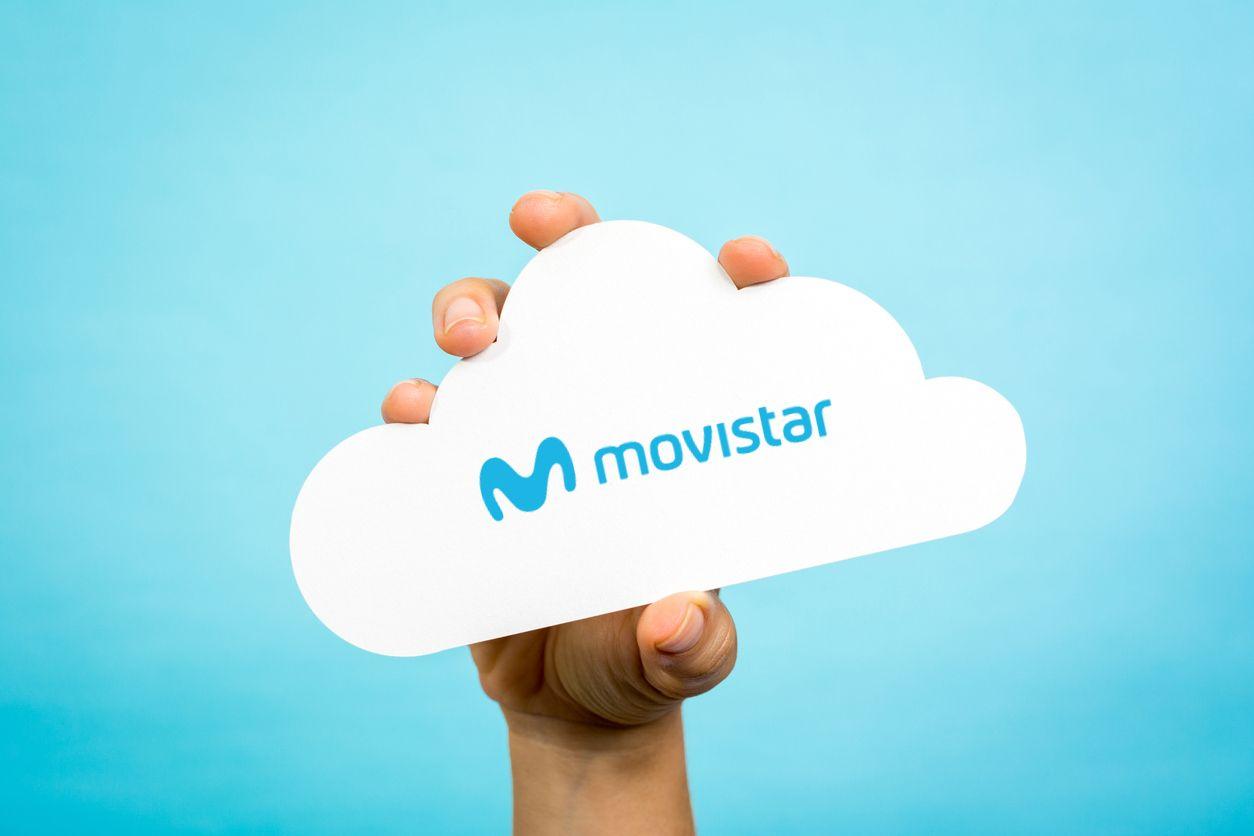 Movistar Cloud sube archivos a la nube