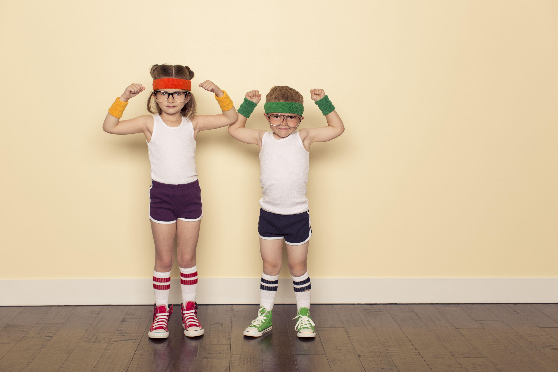 Niños posan para cambiar internet Amena