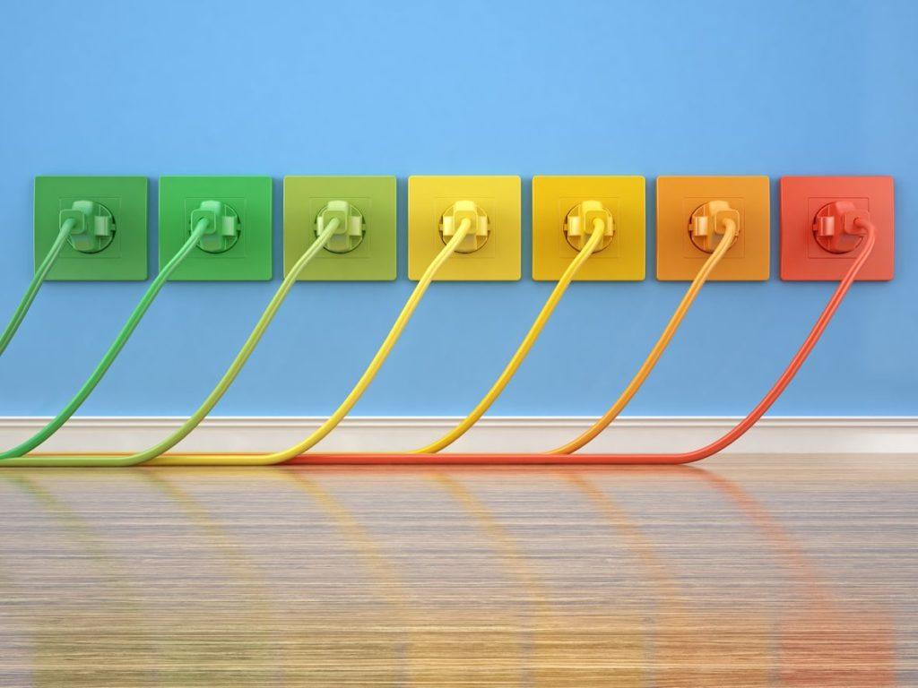 Fibra simétrica para subir y bajar datos a máxima velocidad