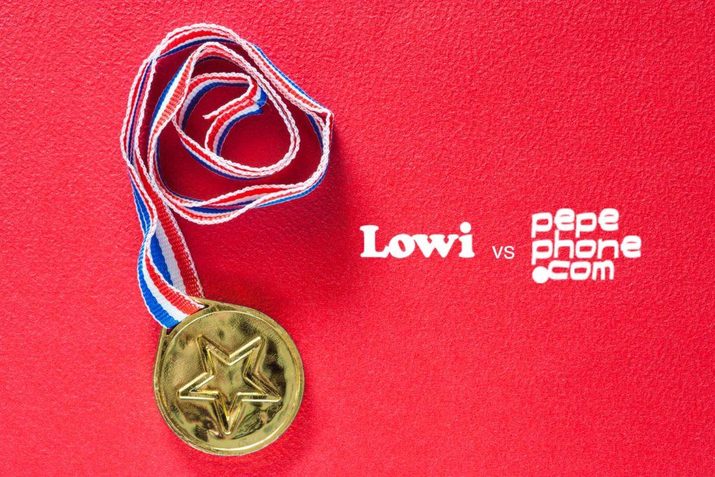 Lowi o Pepephone: Comparativa de los OMV más baratos