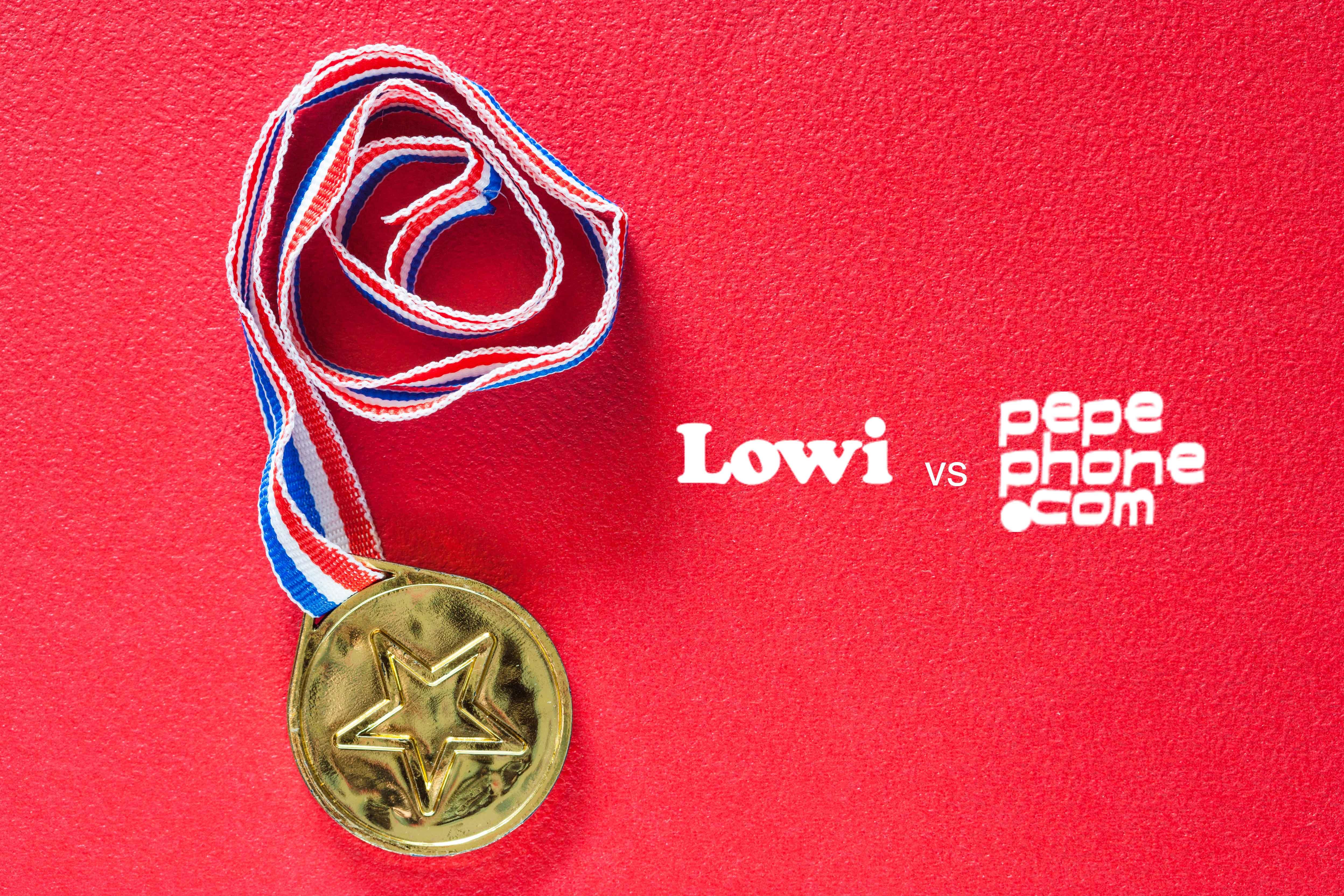 medalla de Lowi o Pepephone