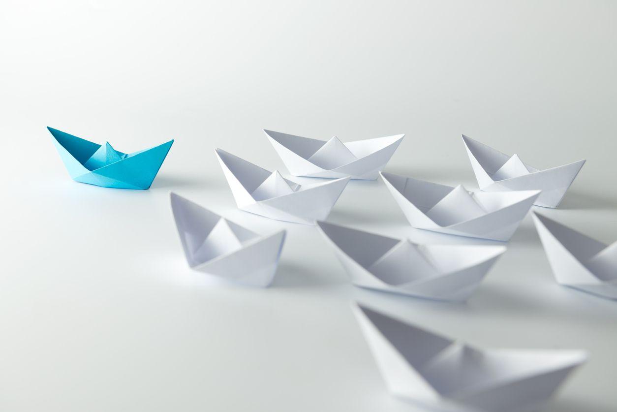 Barcos de papel representan una migración Movistar