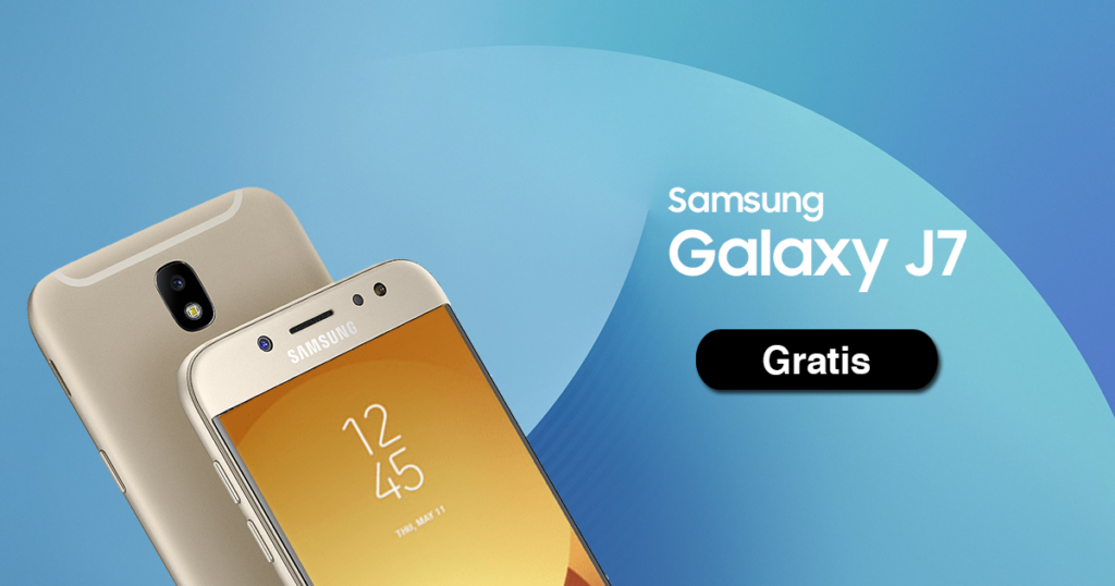 Galaxy J7 gratis