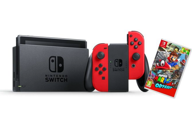 Nintendo Switch con Orange