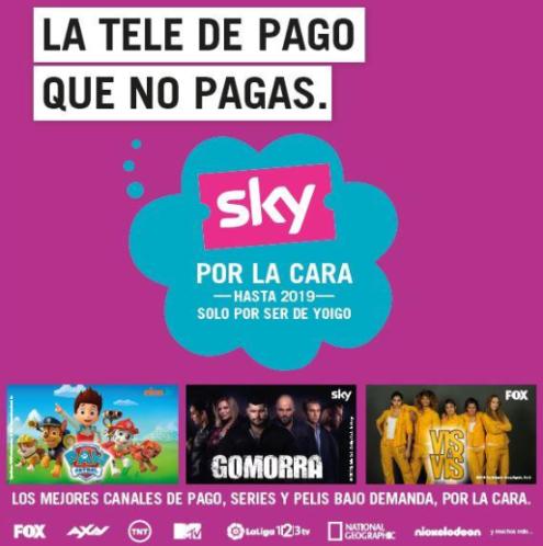 Yoigo sky gratis