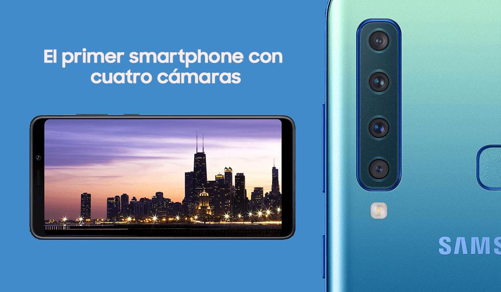 Comprar Samsung A9 con Movistar