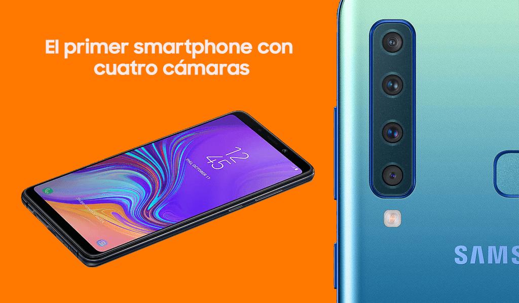 Comprar Samsung Galaxy A9 con Orange