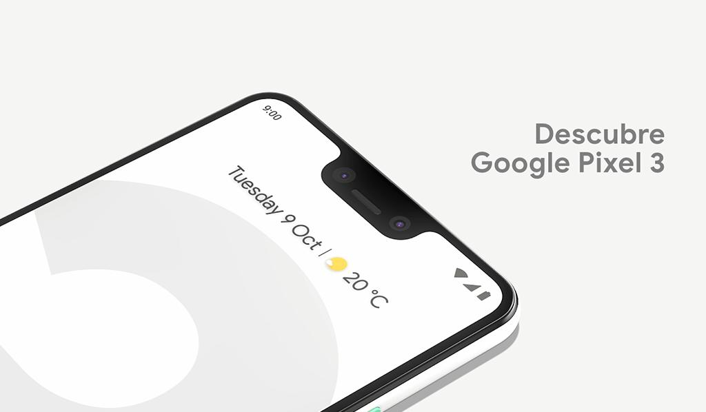 Google pixel 3 en Vodafone