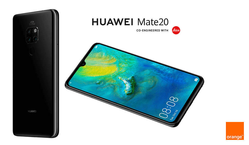 Comprar el Huawei Mate 20 con Orange