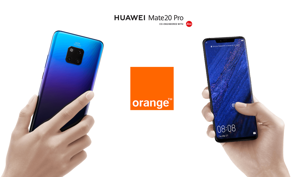 Comprar el Huawei Mate 20 Pro con Orange