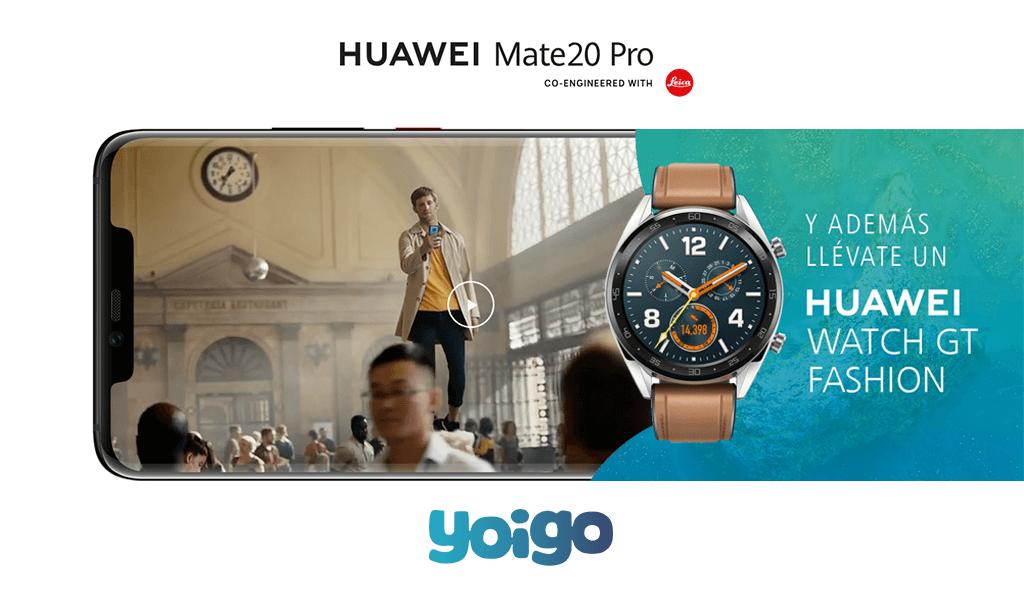 Comprar Huawei Mate 20 Pro Yoigo