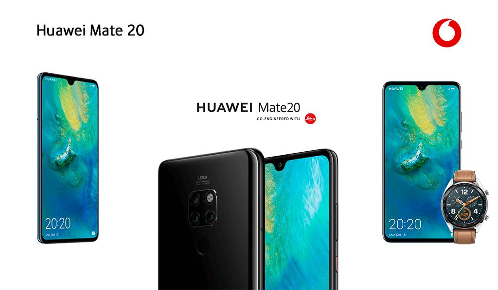 Huawei Mate 20 en Vodafone