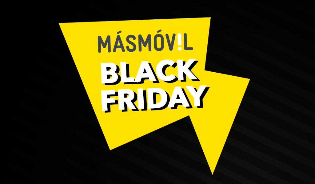 MásMóvil en Black Friday