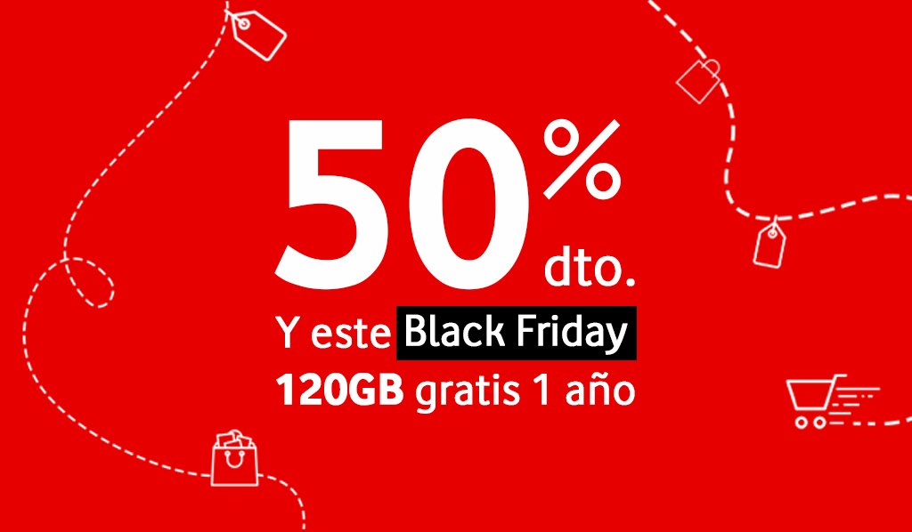 Ofertas Vodafone en Black Friday